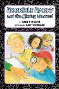 Horrible Harry and the Missing Diamond Book Cover