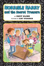 Horrible Harry and the Secret Treasure Book Cover